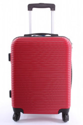 Cestovný kufor XTD malý (48x38x22 + 5 cm kolieska) - červený 2.