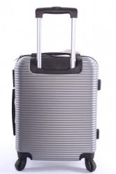Cestovný kufor XTD malý (48x38x22 + 5 cm kolieska) - strieborný #1