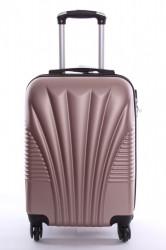 Cestovný kufor XTD malý (50x35x22 + 5 cm kolieska) - staroružový