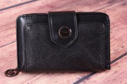 Dámska peňaženka (BY5060) - čierna (14x9x4 cm)