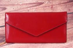 Dámska peňaženka (BY5066) - bordová (20x10x3,5 cm)