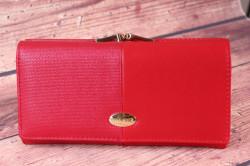 Dámska peňaženka V&V Finder - červená (19x9x4 cm)