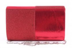 Dámska spoločenská kabela (6338) - červená (22x13x5 cm) #1