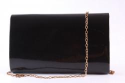 Dámska spoločenská kabelka (0297-36) - čierna (22x15x5 cm) #1