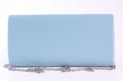 Dámska spoločenská kabelka (HD762) - modrá (24x12x5 cm) #1