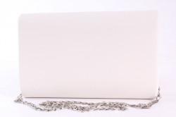 Dámska spoločenská kabelka (HL3152) - biela (22x14x6 cm) #1