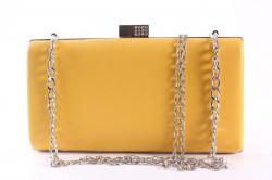 Dámska spoločenská kabelka (LK5648) - žltá (22x12x4 cm) #1