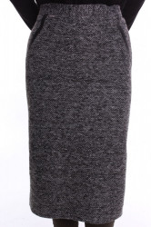 Dámska sukňa hrubá - antracitová D3
