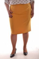 Dámska sukňa - žltá