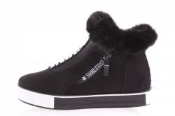 Dámska zateplená športová obuv ( NB 128) čierna