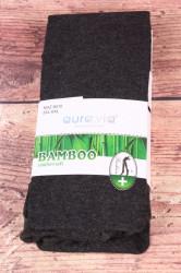 Dámske bambusové pančuchové nohavice (NHZ8010) - tmavosivé