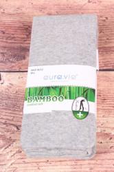 Dámske bambusové pančuchové nohavice (NHZ8012) - bledosivé