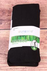 Dámske bambusové pančuchové nohavice (NHZ8012) - čierne