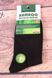 Dámske bambusové ponožky NN8617 - čierne