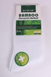 Dámske bambusové ponožky (NN8618) - biele