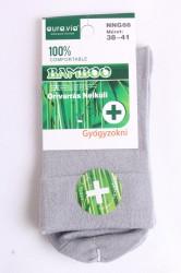 Dámske bambusové zdravotné ponožky (v. 38-41) - bledosivé