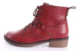 Dámske členkové topánky TAMARIS (1-25116-21 536) - bordové (v. 3,5 cm)
