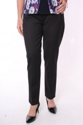 Dámske elastické nohavice s opaskom (2180)