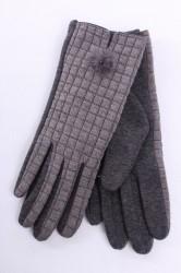 Dámske rukavice - sivá (B-91)