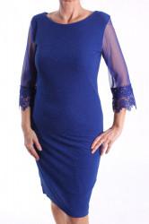 Dámske spoločenské šaty (č.38260) - kráľovské modré D3
