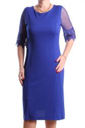 Dámske spoločenské šaty (č. 38416) - kráľovské modré D3