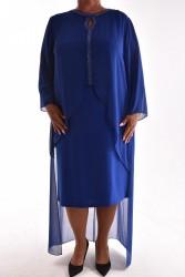 Dámske spoločenské šaty dvojdielna so silonovým vrchom 2ef182f1dc4