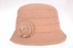 Dámsky klobúk 1-. (56-58 cm) - béžový
