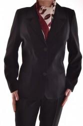 Dámsky nohavicový kostým 2 - čierny D25
