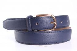 Dámsky opasok (NT01) - modrý (š. 2,8 cm)