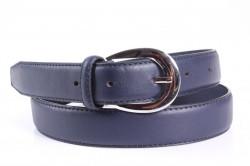 Dámsky opasok (P88-3) - modrý (š. 3 cm)