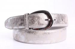 Dámsky opasok (P88) - strieborno-sivý (š. 3,8 cm)