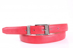 Dámsky opasok (ZSP-17171-2,5) - červený (š. 2,5 cm)
