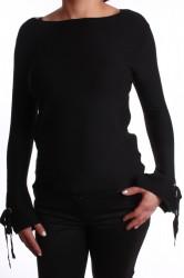 Dámsky pulóver - čierny
