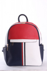 Dámsky ruksak (826) VZOR 1.- trojfarebný (33x27x12 cm)