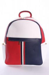 Dámsky ruksak (826) VZOR 2.- trojfarebný (33x27x12 cm)