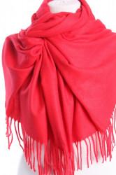 Dámsky šál (5678) - (71x180 cm) - červený