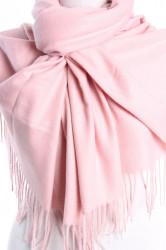 Dámsky šál (5678) - (71x180 cm) - ružový