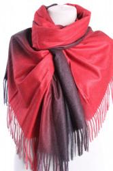 Dámsky šál (5903) - (73x192 cm) - červeno-hnedý