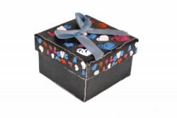Darčeková krabica - malá, modrá