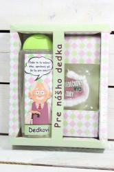 Darčekové balenie - PRE DEDKA - sprchový gel 300 ml +ručne vyrábané mydlo
