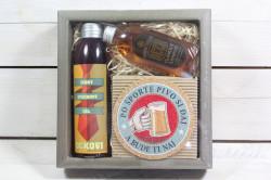 Darčekové balenie PRE OTECKA-sprchový gel 200ml+šampón na vlasy 75 ml+korková podtácka