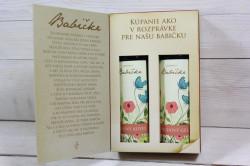 Darčekové balenie-ROZPRÁVKA O BABIČKE (sprchový gel 200ml+olejová pena)