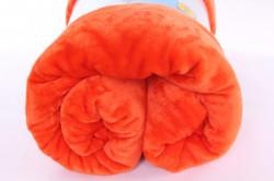 Deka flísová (200x230 cm) - oranžová