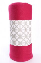 Deka jednofarebná (150x200 cm) - bordová