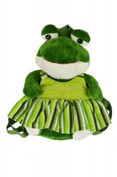 Detský plyšový ruksak - žaba 2