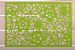 Filcové prestieranie 30x45 zelené