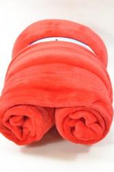 Flísová deka - červená (150x200 cm)