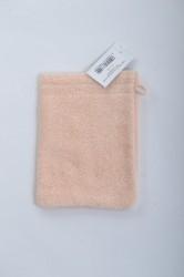 Froté rukavice na umývanie (17x25 cm) - broskyňové