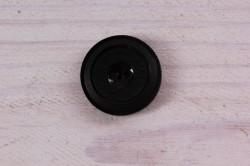 Gombík stredný (priemer 2,3 cm) - čierny 1.