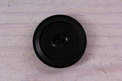 Gombík veľký (priemer 2,8 cm) - čierny 1.